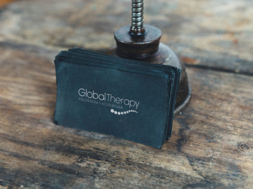 Global Therapy logo design