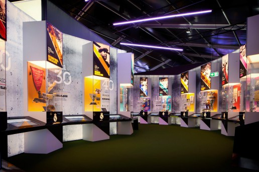 Thinking a Design - Real Madrid touring Exhibition