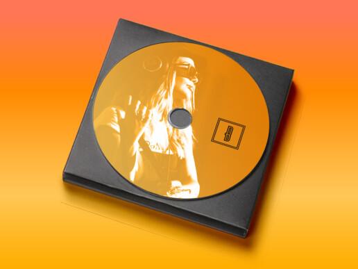 Thinking a Design - Blondie the DJ branding