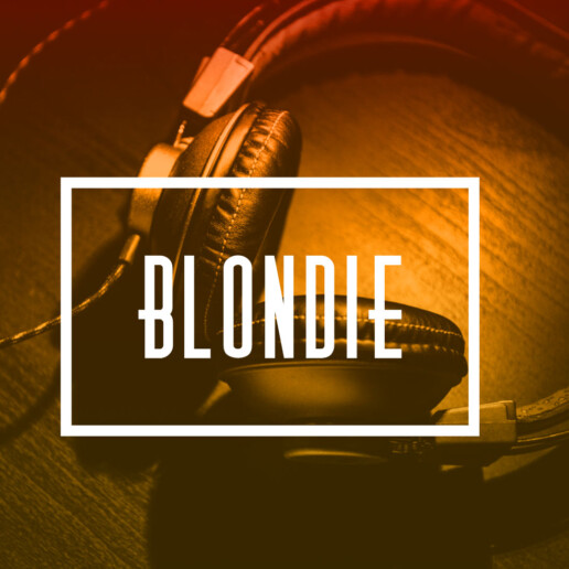 Thinking a Design - Blondie the DJ branding
