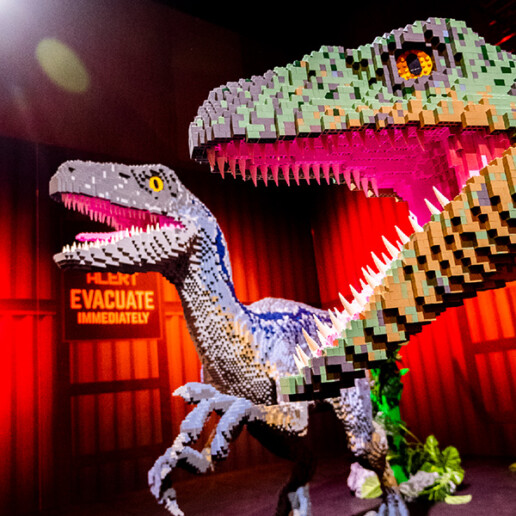 Jurassic World by Brickman Exhibition Project - Image