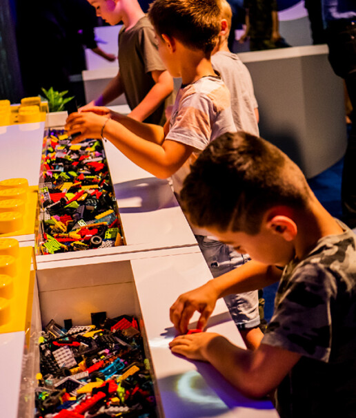 Jurassic World by Brickman Exhibition Project