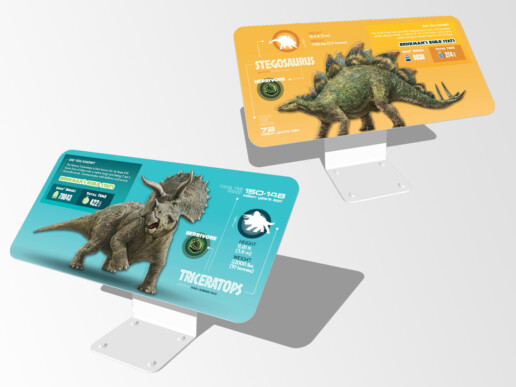 Jurassic World by Brickman Exhibition Project - Object Label