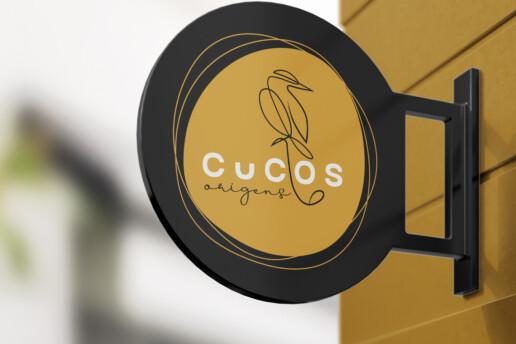 Cucos Origens Re-Branding - Sign