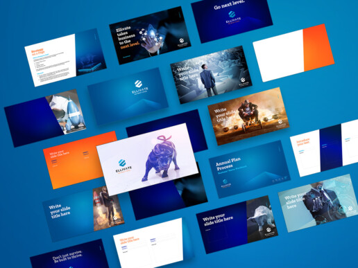 Ellivate Consulting - Re-branding project - ppt template